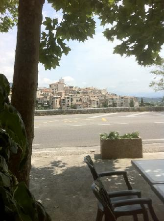 Le sansot : view from restaurant