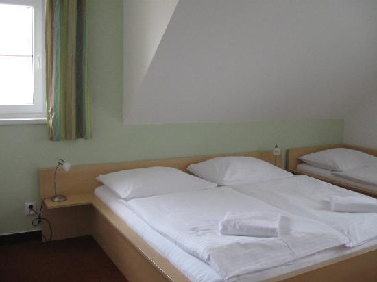 Penzion Krumlov: habitación triple