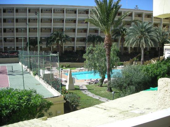 Vista dal balcone picture of jardin del atlantico playa for Jardin ingles