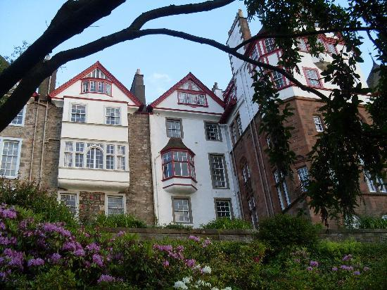 Albany Street Apartments : From the private gardens