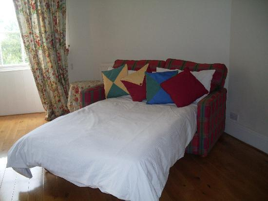 Albany Street Apartments : Very comfortable double sofa bed