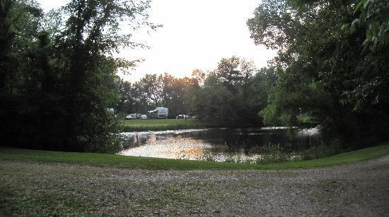 Wheeler's Campground: the pond
