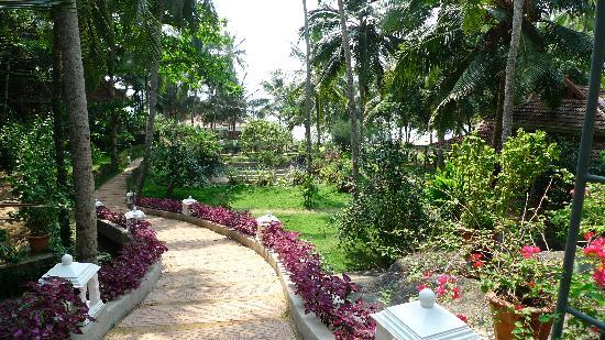Bethsaida Hermitage: The view as you walk into the grounds