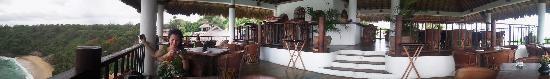 Villas Carrizalillo : vista restaurant