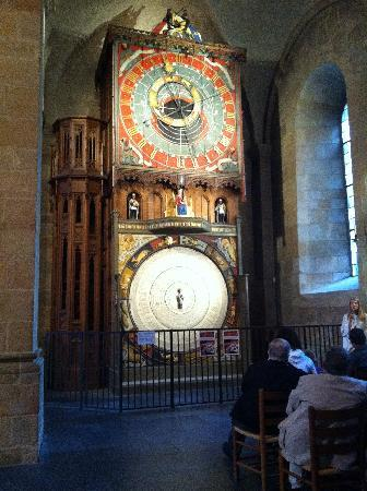 Лунд, Швеция: The astronomical clock