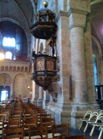 Lund, Sweden: The pulpit