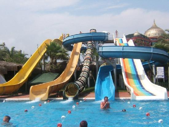 Delphin Palace Hotel: The hotel Slides. Fantastic
