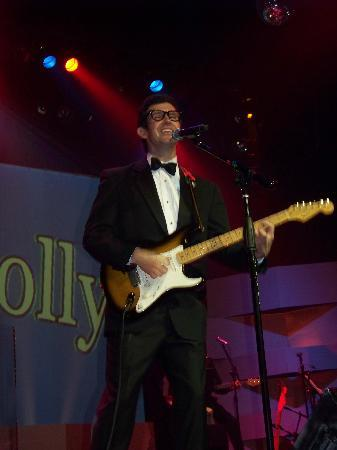Rankin Brothers: Matt Rankin singing a song of Buddy Holly