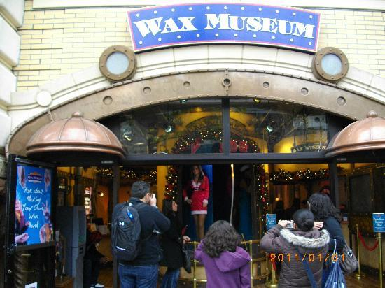 The Wax Museum at Fisherman's Wharf: 入口