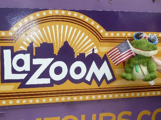 LaZoom: The big purple bug