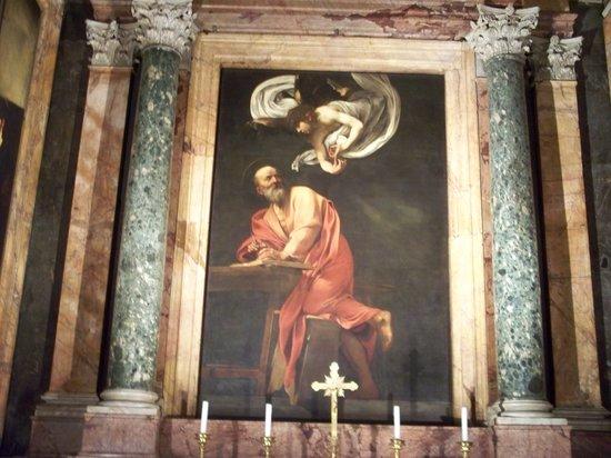 Iglesia de San Luis de los Franceses: Caravaggio