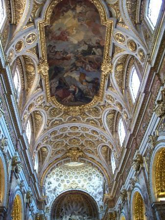 Iglesia de San Luis de los Franceses: Ceiling of Church