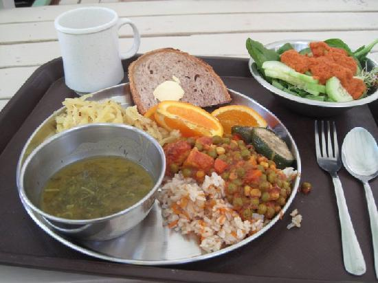 Sivananda Ashram Yoga Retreat: Food
