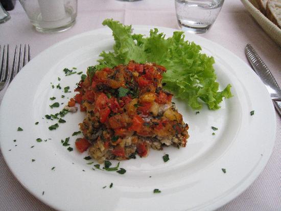 Damimo: イワシとトマトが最高においしかった!