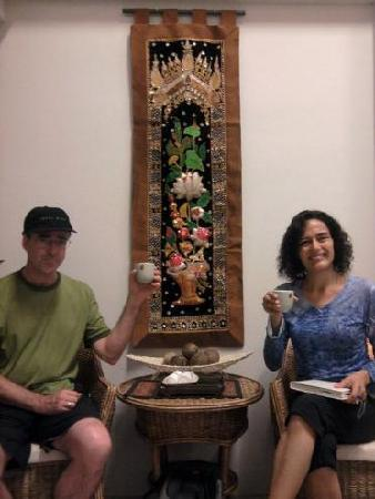 Deep Relax Thai Massage & Spa : Me and my Husband
