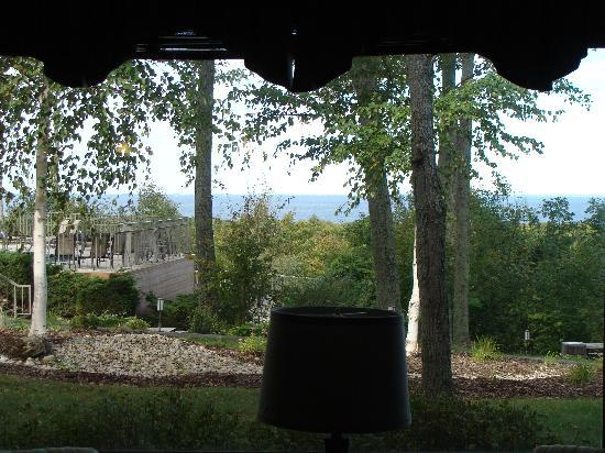 Egg Harbor, WI: Daytime view from our room
