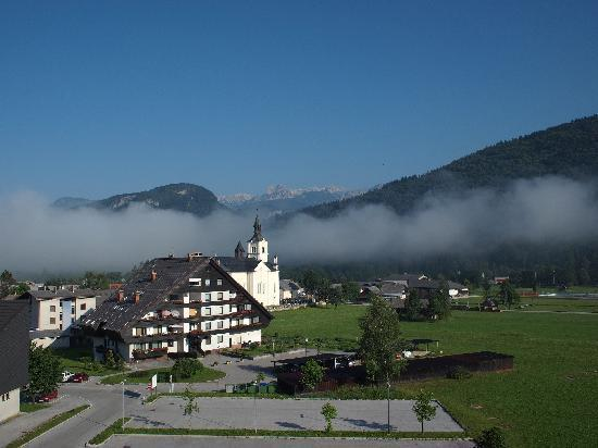 Bohinj ECO Hotel: View from balcony