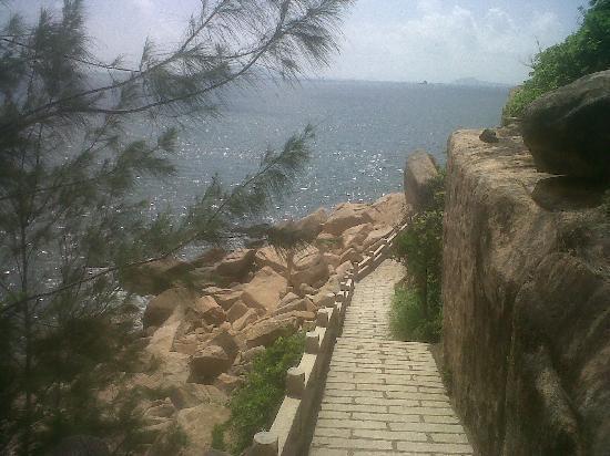 Zhuhai Wai Lingding Island: Passeggiata