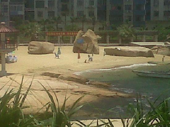 Zhuhai Wai Lingding Island: Spiaggia
