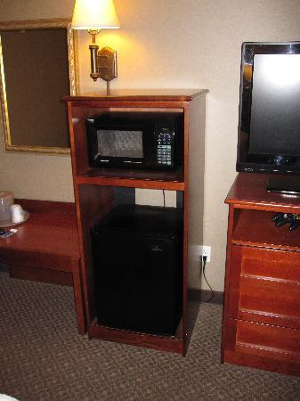 Hampton Inn & Suites Agoura Hills : Fridge & Microwave