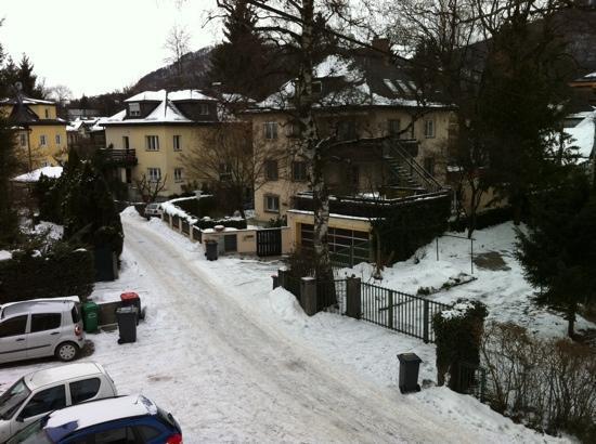 Gästehaus Scheck: view from the window.