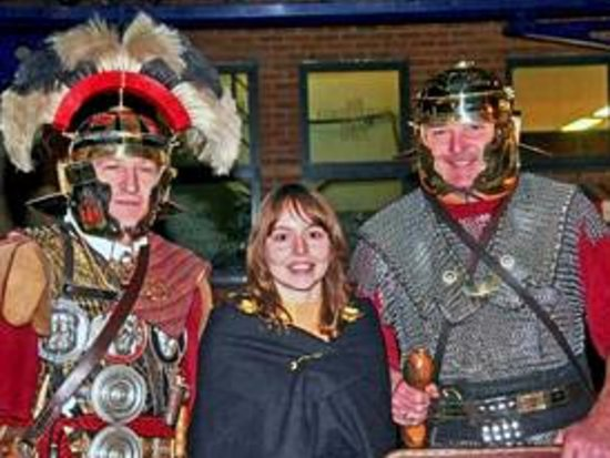 Harborough Museum: With re-enactments throughout the year!