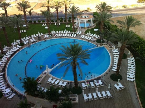 Isrotel Dead Sea Hotel & Spa : pool, view feo