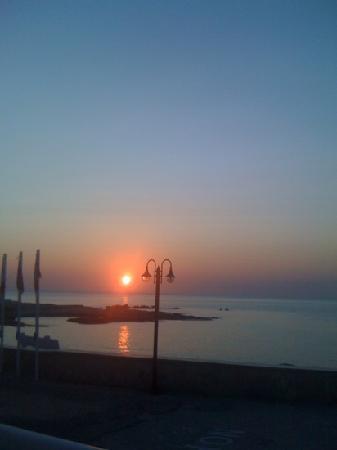 Villa Mary Elen: sunset from room 13