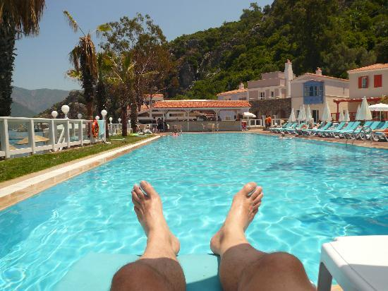 Club Adakoy Resort Hotel: View from the sunlounger