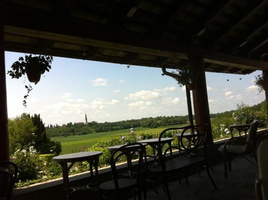 Osteria Sant'Andrea: Ottima cucina e stupendo il panorama!