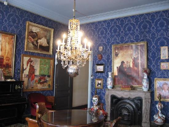 James Ensor House (James Ensorhuis) : Second floor living room