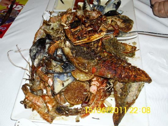 221 Waterfront : Burnt crayfish