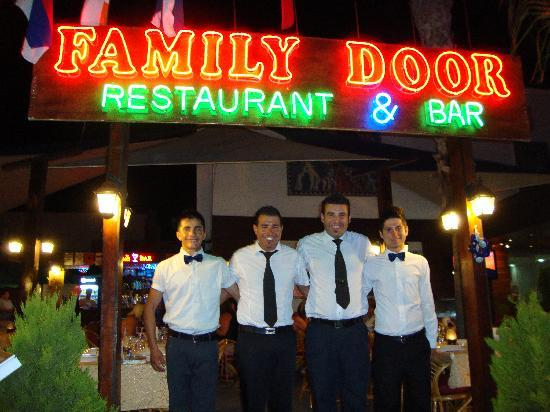 Family Door: Front of house staff