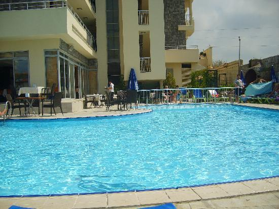 Lavitas Hotel: pool view