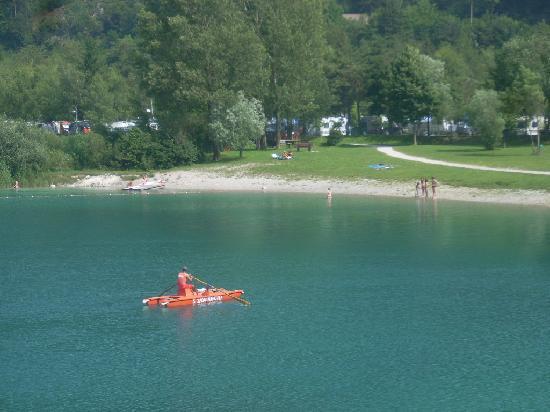 Lago di Ledro: il bagnino del lago