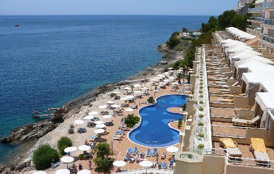 Poolside picture of iberostar suites hotel jardin del for Jardin del sol santa ponsa