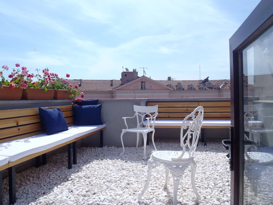 Arch-Ist Taksim Suites: roof top garden