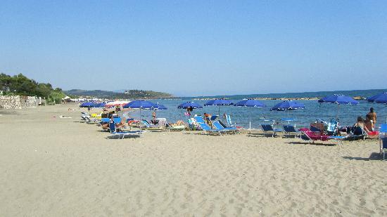 Appia Grand Hotel : Spiaggia