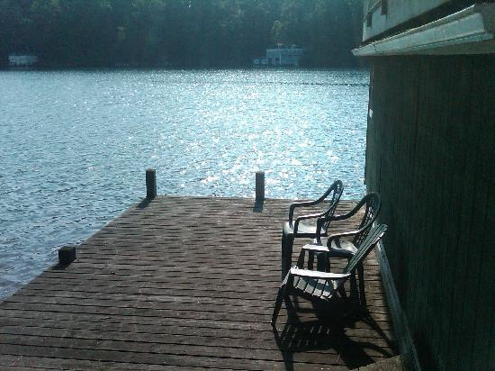 Grafton Lodge: Boat Dock 2