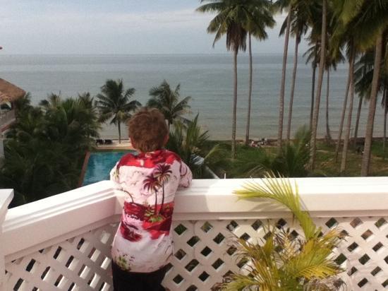 เกรส บูติก รีสอร์ท: view from the breakfast belcony