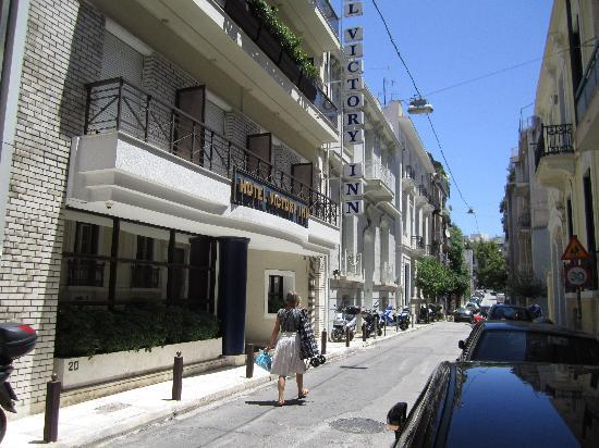 Victory Inn Hotel, Trias, street view