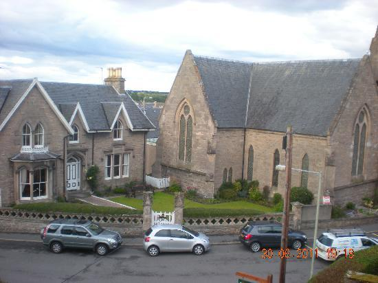 Hay Lodge: View from my room