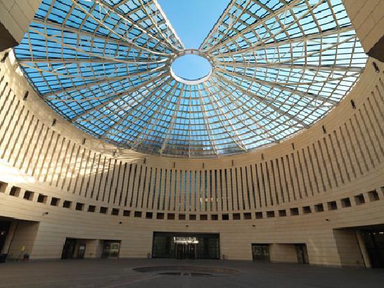 Il giardino delle sculture del mart picture of museo di for Museo d arte moderna e contemporanea di trento e rovereto