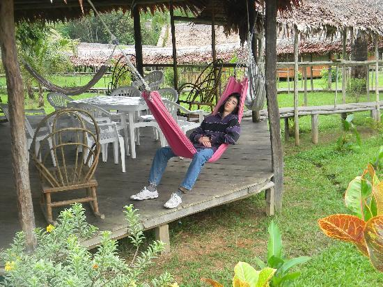 Amazon Rainforest Lodge: Sala de relax...