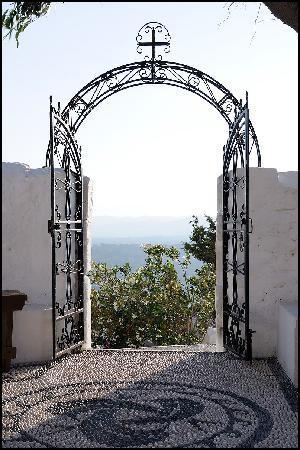 Rhodes, Greece: Tsampika monastery