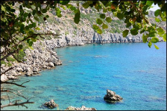Rhodes, Greece: Anthony Queen Bay