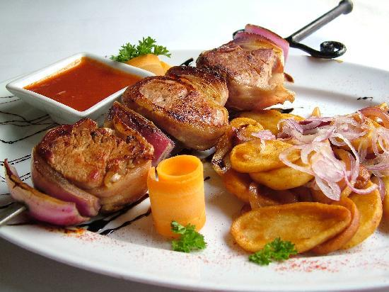Vörös Postakocsi étterem: Vörös Postakocsi Restaurant - Pork Fillet Mignon