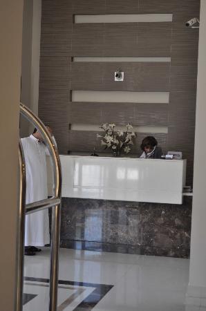 Hotel Misk : reception