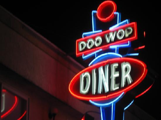 sign of doo wop diner picture of doo wop diner wildwood tripadvisor. Black Bedroom Furniture Sets. Home Design Ideas