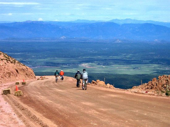 Pikes Peak Mountain Bike Tours